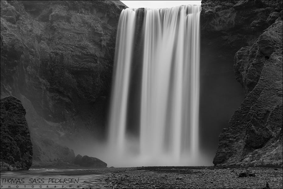 Skogafoss, Iceland, Island, Vandfald, Waterfall