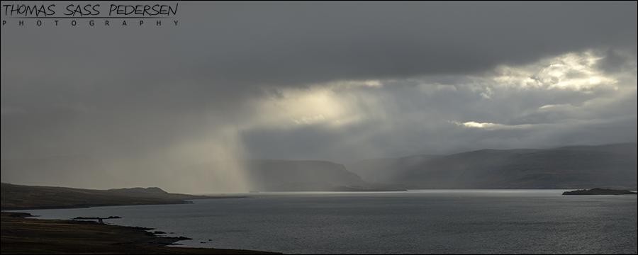 Hvalfjordur, Vand, Fjord, Island